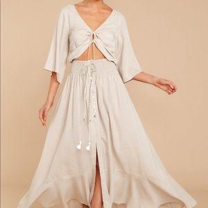 Searching the Horizon Maxi Dress
